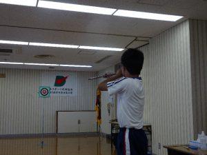 スポーツ吹矢部