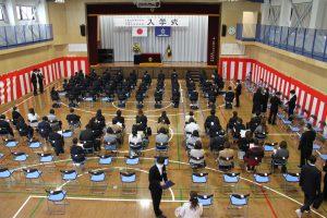 入学式の様子(午前の部)